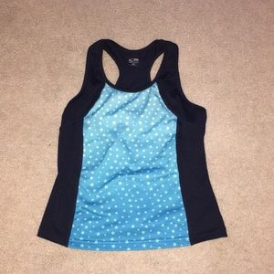 Girls workout tank